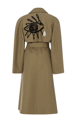 Embroidered Tailored Coat by TOME Now Available on Moda Operandi