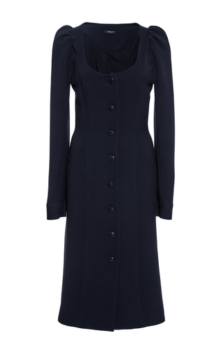Buttoned Scoop Neck Dress by DEREK LAM Now Available on Moda Operandi