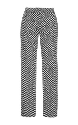 Medium derek lam plaid herringbone cropped trousers