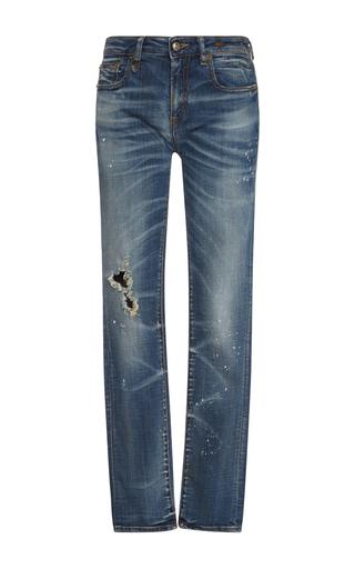 Medium r13 denim medium wash kate mid rise skinny jeans