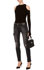 Jenny Mid Rise Skinny Jeans by R13 Now Available on Moda Operandi