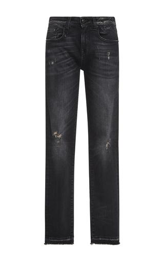 Medium r13 denim dark wash jenny mid rise skinny jeans