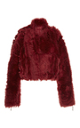 Sac Oversized Shearling Motorcycle Jacket by R13 Now Available on Moda Operandi