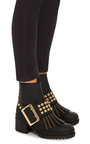 Studded Whitchester Ankle Boot by BURBERRY Now Available on Moda Operandi