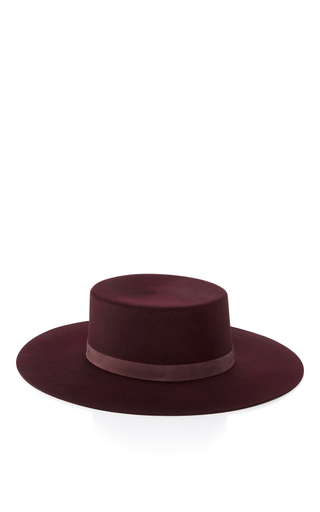 Laurena Bolero Hat by JANESSA LEONE Now Available on Moda Operandi