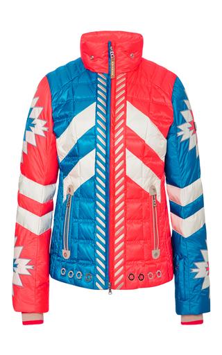 Medium bogner print elia d bicolor ski jacket