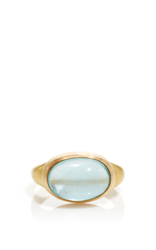Medium sanjay kasliwal blue universal blue topaz ring