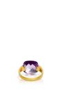 Indorussian Amethyst Ring by SANJAY KASLIWAL Now Available on Moda Operandi