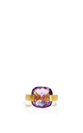 Medium sanjay kasliwal purple indorussian amethyst ring