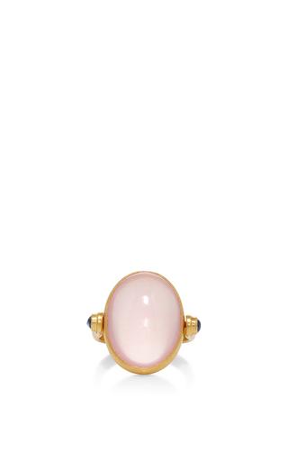 Medium sanjay kasliwal light pink rose quartz ring