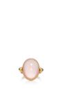 Rose Quartz Ring by SANJAY KASLIWAL Now Available on Moda Operandi
