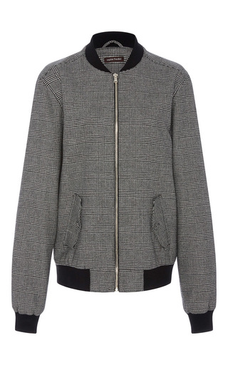 Medium sophie theallet light grey imaan cashmere bomber