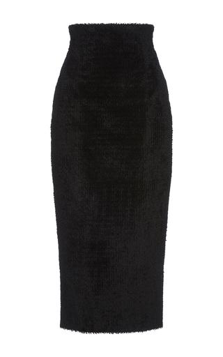 Medium sophie theallet black veronica velvet skirt