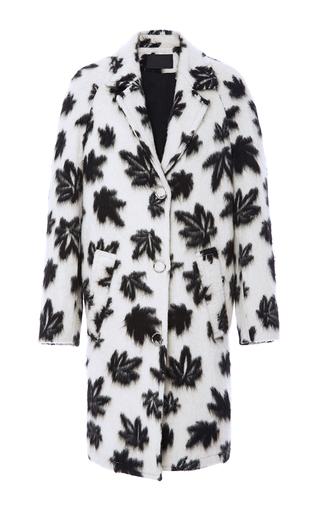 Medium alexander wang white raglan sleeve car coat
