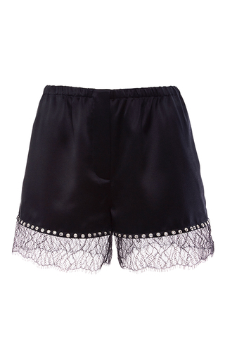 Medium alexander wang black bloomer shorts