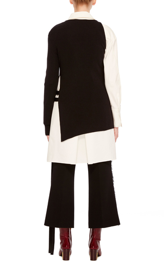 Ribbed Asymmetrical Top by ADEAM Now Available on Moda Operandi