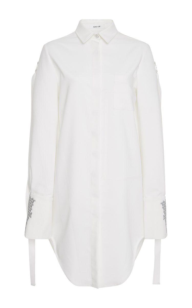 Cotton Poplin Shirt Dress By Adeam Moda Operandi