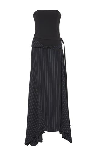 Medium adeam stripe bustier pinstripe dress