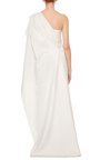 Cotton Poplin One Shoulder Bustier Top by ADEAM Now Available on Moda Operandi