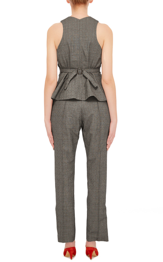 Menswear Jacquard Vest by ROSIE ASSOULIN Now Available on Moda Operandi