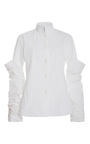 Stretch Armstrong Button Down Shirt by ROSIE ASSOULIN Now Available on Moda Operandi