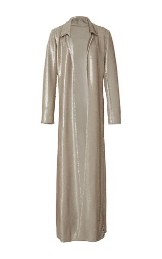Medium rosie assoulin gold duster reversible maxi coat