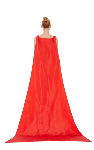 Sleeveless Cape Jumpsuit by ROSIE ASSOULIN Now Available on Moda Operandi