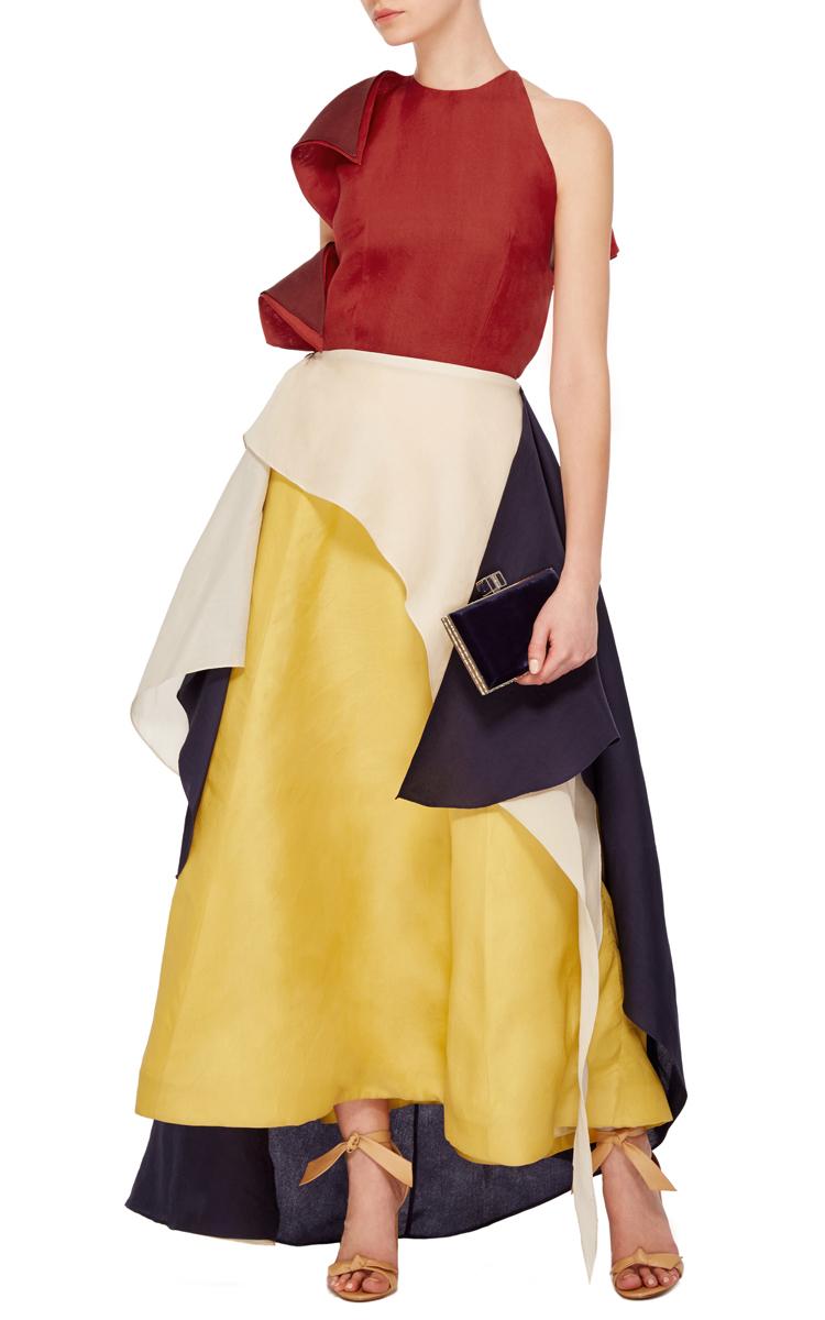 Halter Layered Dress