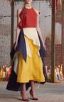 Halter Layered Tutto Dress by ROSIE ASSOULIN Now Available on Moda Operandi