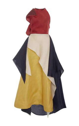 Medium rosie assoulin multi halter layered tutto dress