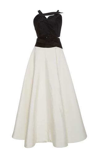 Medium rosie assoulin black sleeveless anatomy gown