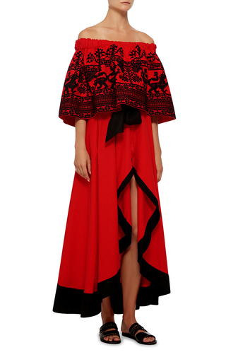 Lion Maxi Dress by YULIYA MAGDYCH Now Available on Moda Operandi