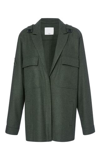 Medium tibi olive ioden green shirt jacket