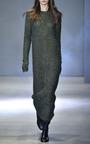 Ioden Green Long Shift Dress by TIBI Now Available on Moda Operandi