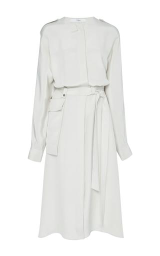 Medium tibi off white dolman sleeve shirtdress