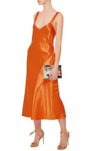 Marmalade Bias Amoret Seamed Dress by TIBI Now Available on Moda Operandi