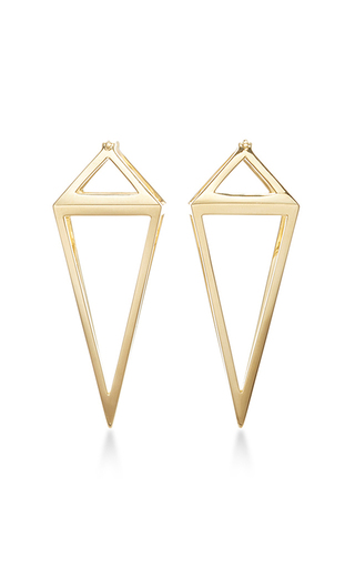 Pendulum 3 D Earrings by NOOR FARES Now Available on Moda Operandi