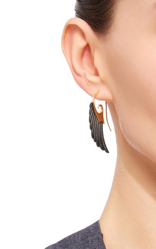 Ebony Wing Earrings by NOOR FARES Now Available on Moda Operandi