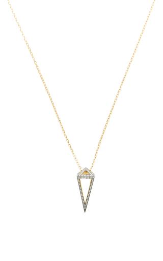 Medium noor fares black geometry 101 pendulum pendant