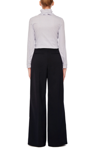 Front Ruffle Blouse by RED VALENTINO Now Available on Moda Operandi