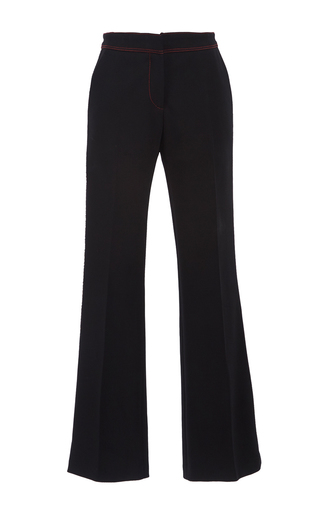 Medium burberry black technical twill cropped naval trousers