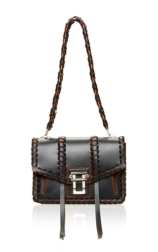 Medium proenza schouler black hava shoulder bag