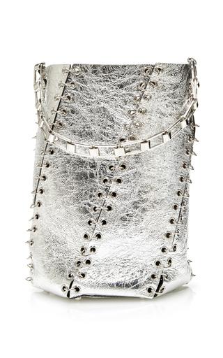 Medium proenza schouler silver medium whipstitch bucket bag