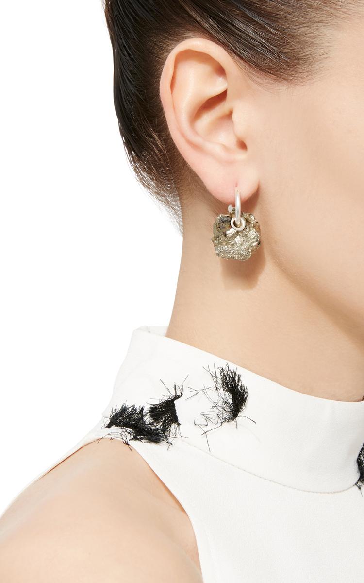 Women Fashion Jewelry Single Stone Earring Close Loading