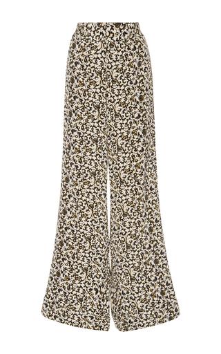 Medium derek lam 10 crosby floral rococo floral silk wide leg trouser