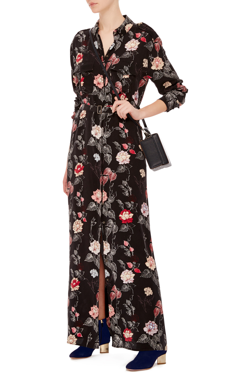 Major Maxi Shirt Dress By Equipment Moda Operandi