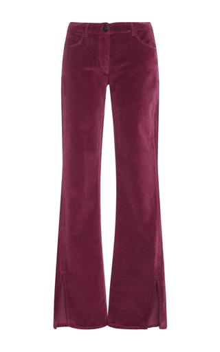 Medium 3x1 pink w2 mid rise flare jeans