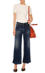 Harry Mid Rise Cropped Jeans by SEAFARER Now Available on Moda Operandi