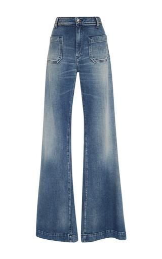 Medium seafarer light wash circe high rise jeans