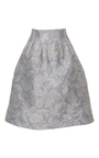 Floral A Line Skirt by OSCAR DE LA RENTA Now Available on Moda Operandi